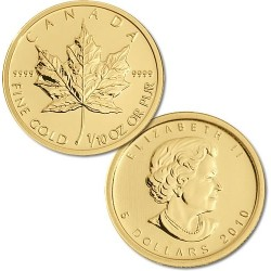 1 Ounce Canadian Gold Maple Leaf