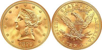 10 Dollar Gold Eagle
