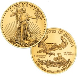 1 Ounce American Gold Eagle