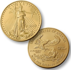 1/2 Ounce American Gold Eagle