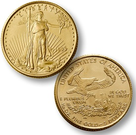 1/10 Ounce American Gold Eagle