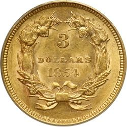 US Three Dollar Gold Coin