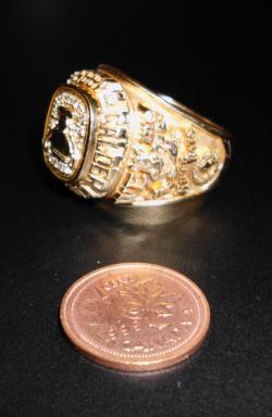 14k Mens Gold Ring 32 Grams